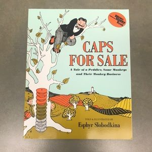 5/$10 - Book - Caps For Sale